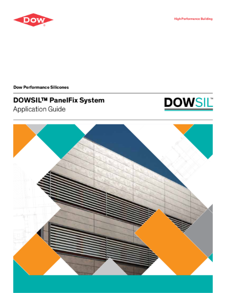 DOWSIL PanelFix System, High Performance Bonding for Facade Cladding