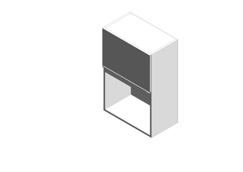 Gallery Microwave Wall Cabinet - Tall