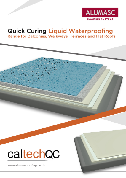 Caltech QC (Quick Cure) Liquid Waterproofing Brochure