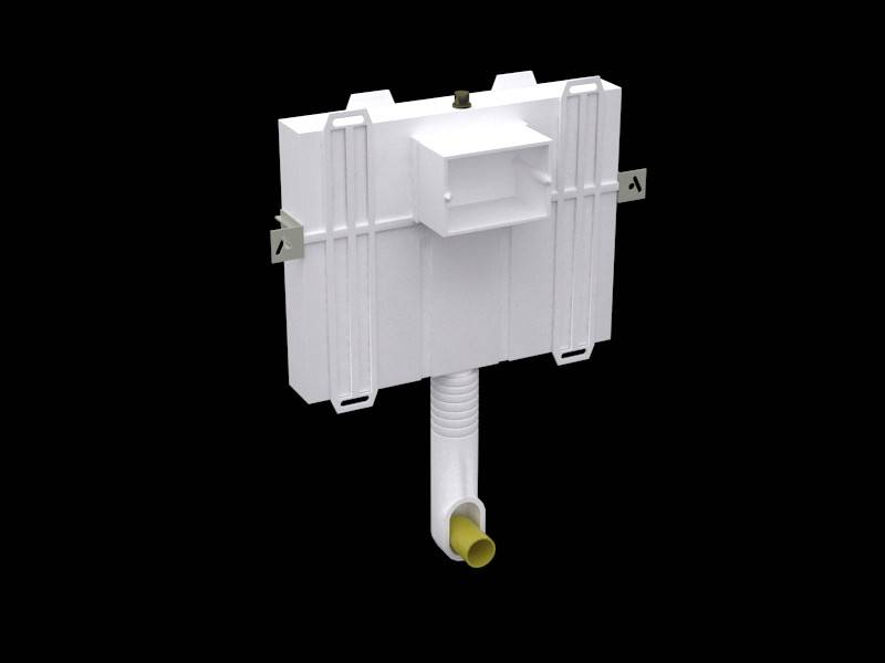 VICONNECT Concealed Cistern Compact 9224 82