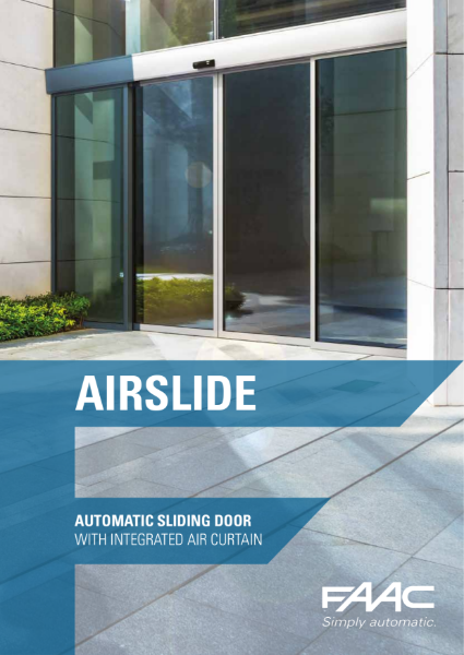 Airslide energy saving door