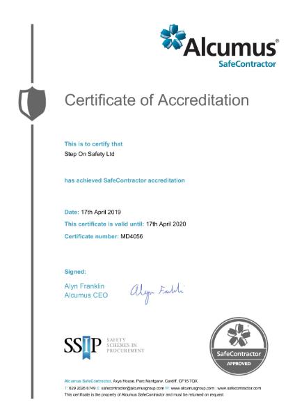 SSIP Certification