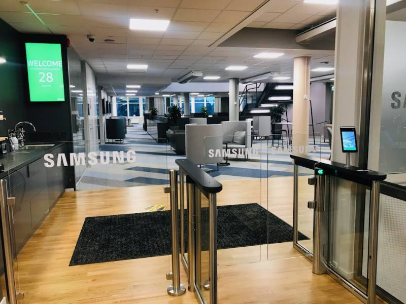 Gunnebo delivers Infection Control Access Solutions to Samsung