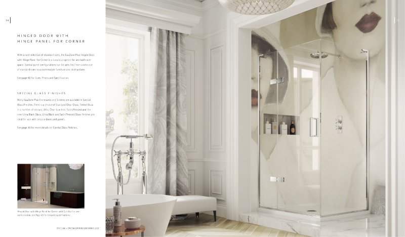 Matki EauZone Plus Hinged Shower Enclosures