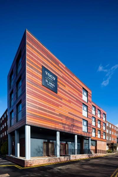 New Spalding-Micro Aluminium Rainscreen System Installed on Voco St John's Hotel Refurbishment
