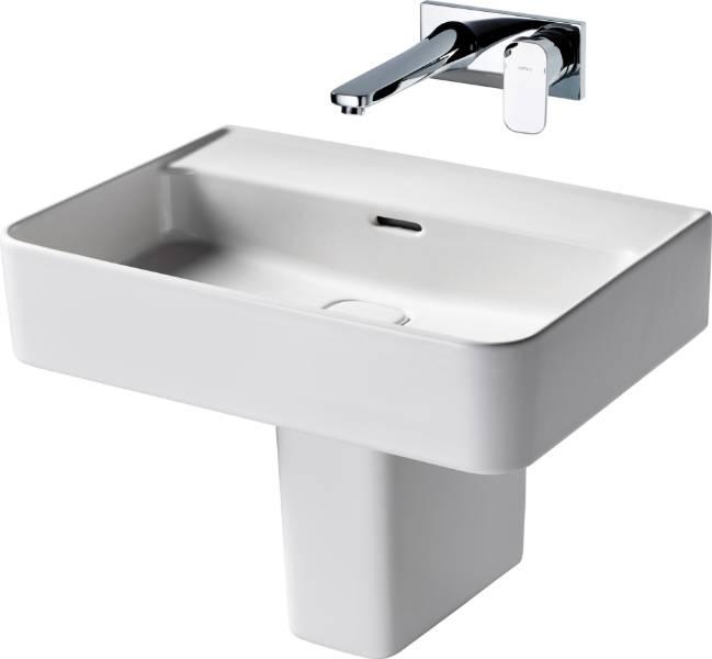 Fusaro Basin 60 White NTH WHG