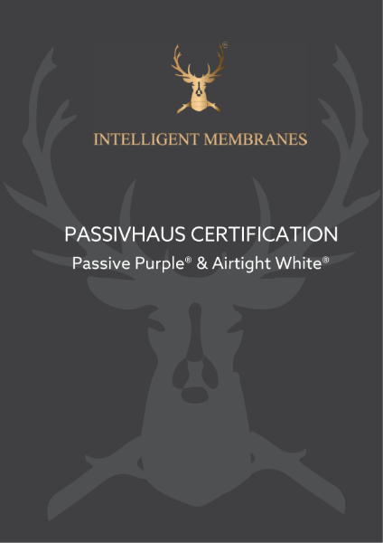 Passive Purple Passivhaus Certification