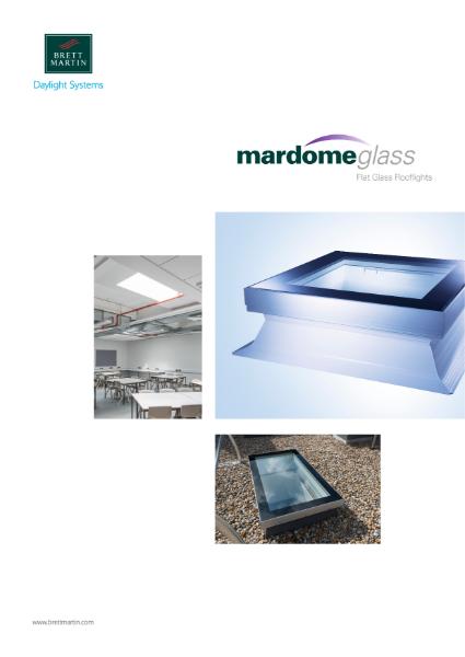 Flat Glass Rooflights - Mardome glass