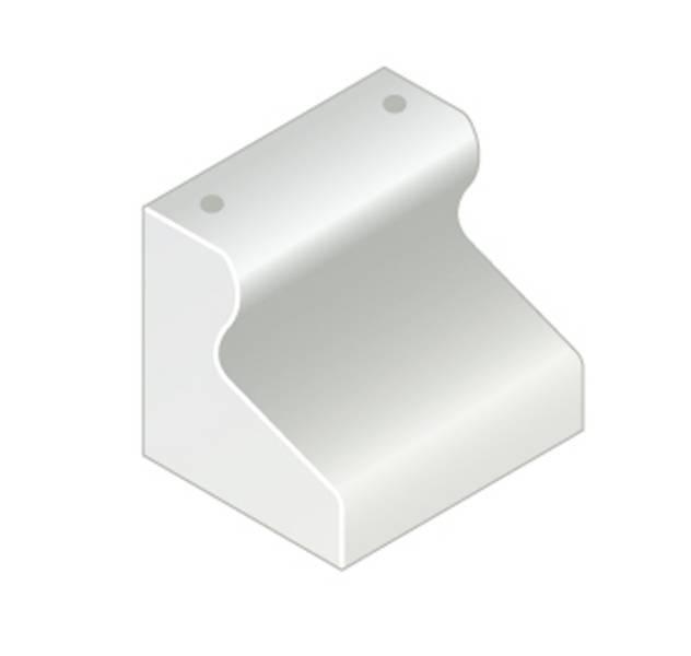 Trief® GST2 Half Kerb 455 mm with dowel holes