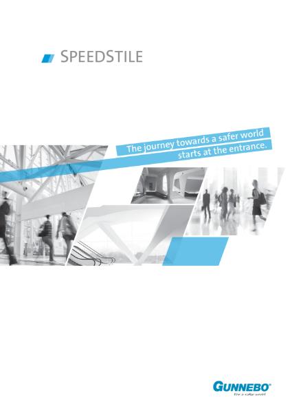 Speed Gate - SpeedStile Brochure