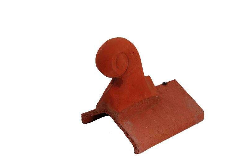 Scroll Finial Universal round