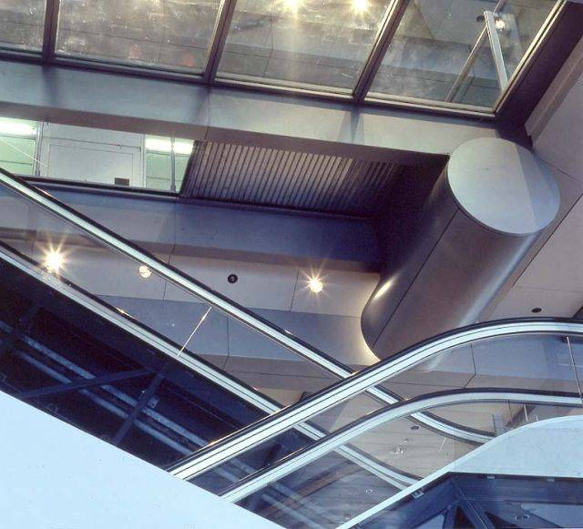 Escalator Fire Resistant Roller Shutters