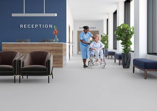 Polysafe Quicklay - Safety flooring