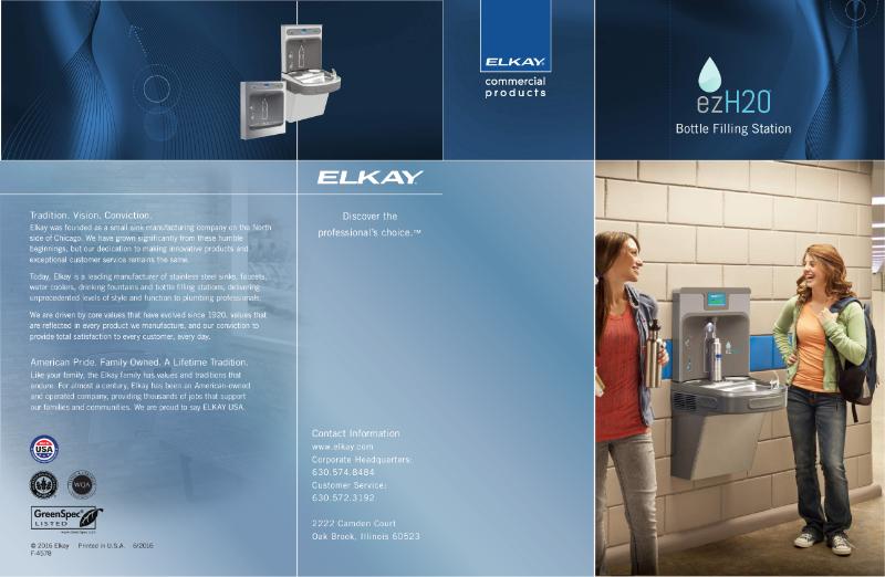 Elkay EZH2O Bottle Filling