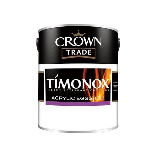 Crown Trade Timonox Acrylic Eggshell