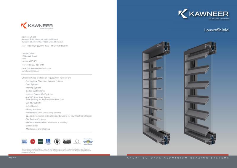 Kawneer LouvreShield Brochure