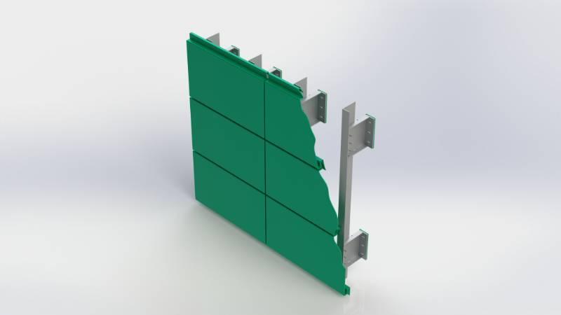 Bailey Platinum Modular™ Secret Fix Rainscreen Cassette Panel