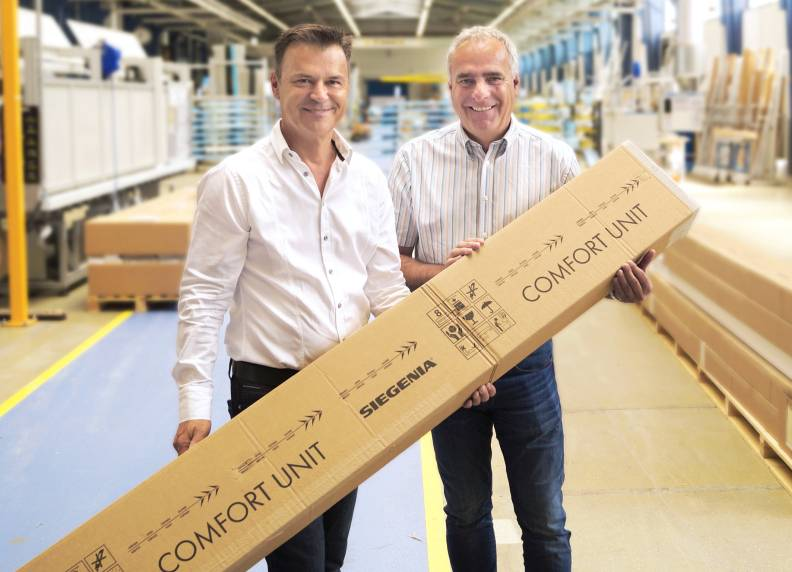 SIEGENIA produces its 100,000th COMFORT UNIT