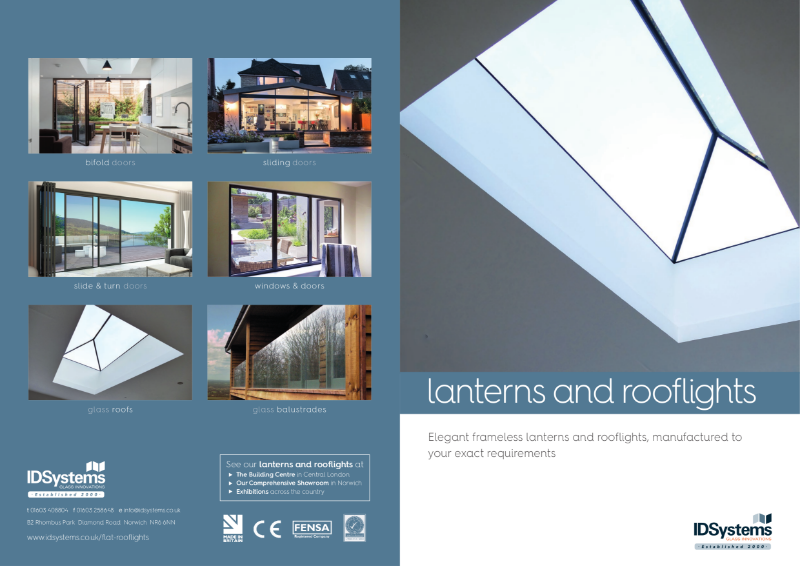 IDSystems roof lanterns and roof light brochure