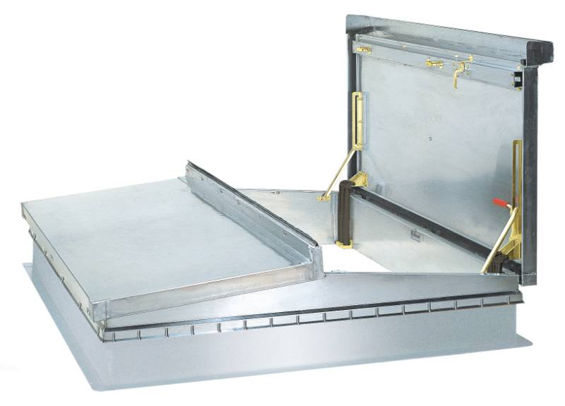 Bilco Roof Hatches - Plant Access D-50T - Roof Access Hatch