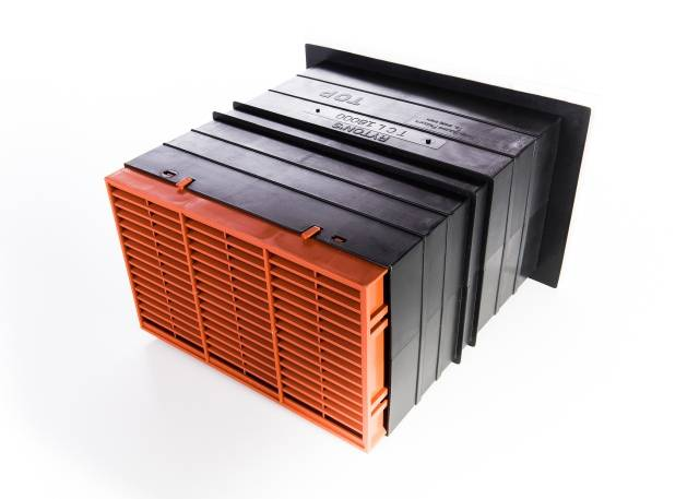Rytons 9x6 Ventilation Set with Hit & Miss Ventilator Range