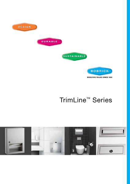 TrimLine Series of Washroom Accessories