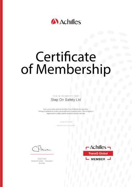 Achilles Certification
