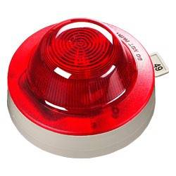 Loop-powered Visual Indicator - Clear Lens Red Flash