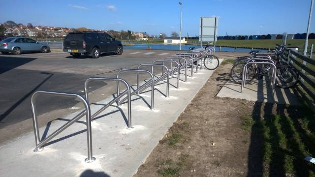 Clifton Cycle Stand - Galvanized Steel