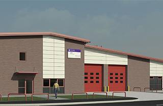 Wakefield's New £3.76m State of the art Fire Station
