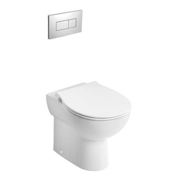 Contour 21+ Back to Wall Rimless WC Suite