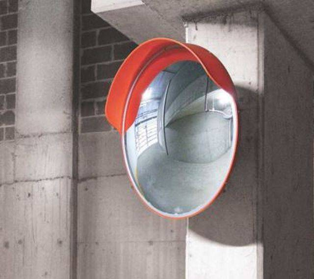 Indoor/Outdoor Convex Mirrors