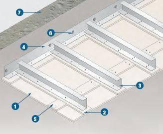 Self Supporting Membrane Ceilings