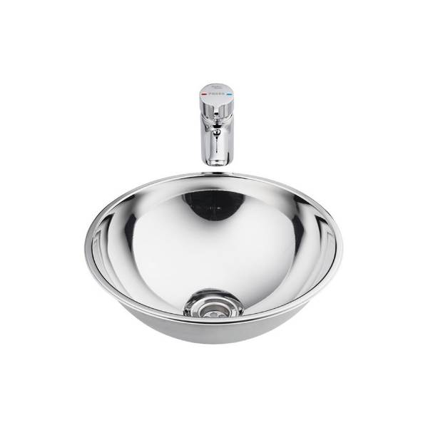 Troon 2 Stainless Steel Washbasin