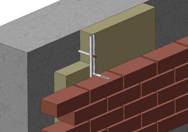 Wincro WC27 (25/14) Brick Tie Channels - To Concrete
