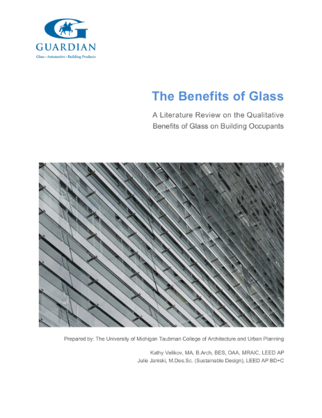The benefits of glass in building