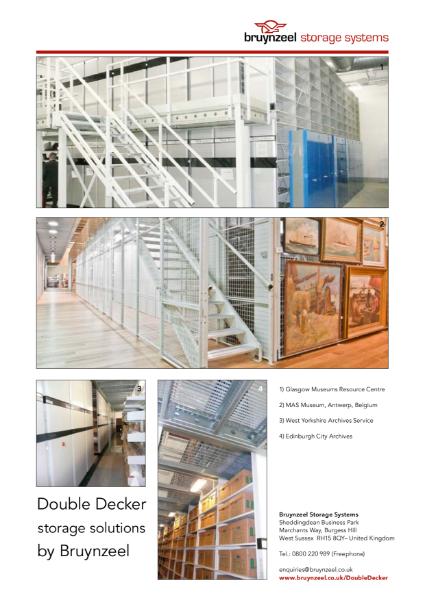 Bruynzeel archive storage - Double Decker Storage