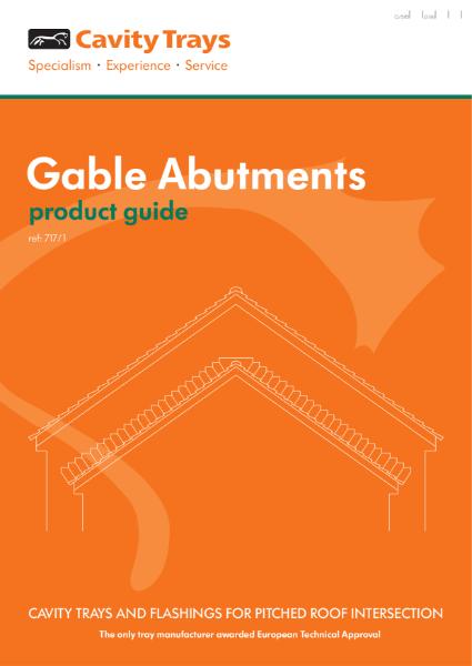 Gable Abutment stepped abutment cavity tray