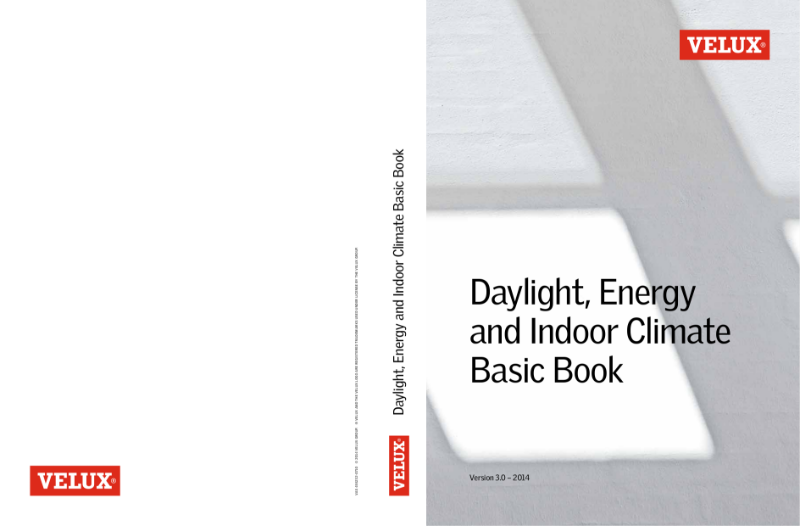 VELUX Daylight, Energy and Indoor Climate Basic Book - 3rd edition