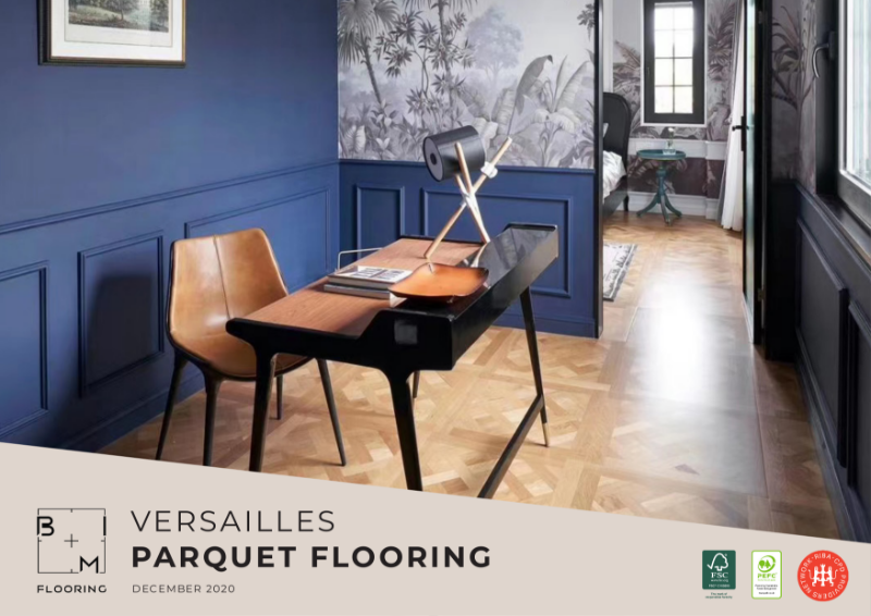 Versailles Parquet Flooring Series Catalogue