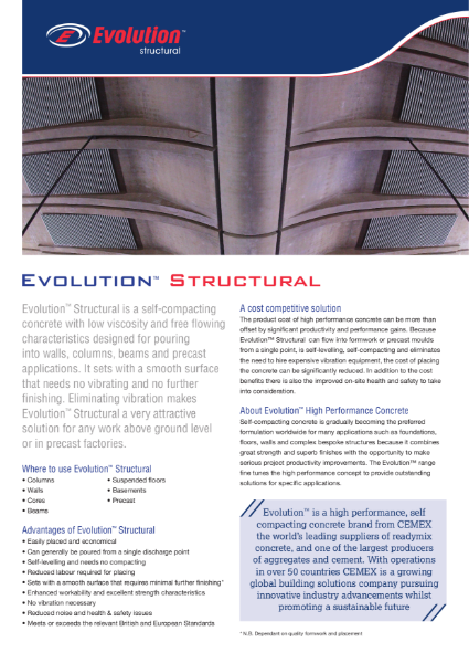 Evolution Structural