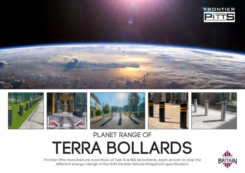 IWA 14 & PAS 68 Terra Bollards