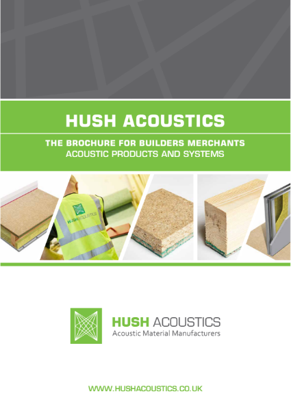 Hush Acoustics Products and Systems Brochure