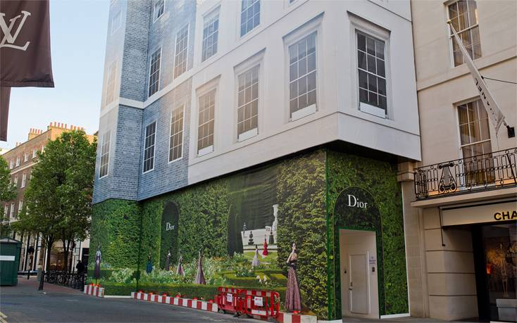 Structural Waterproofing - Christian Dior, New Bond Street