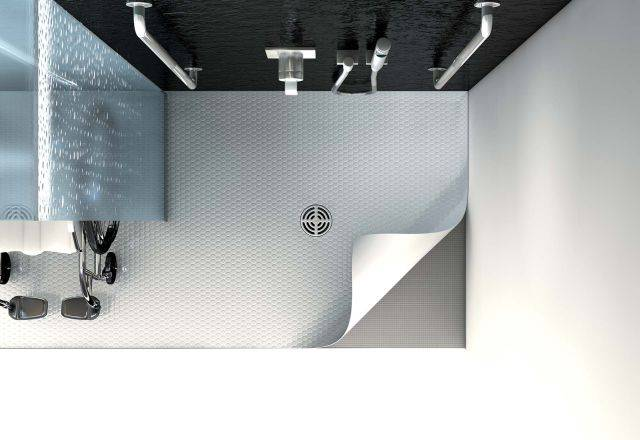wedi Solso – Shower Element For PVC Covering