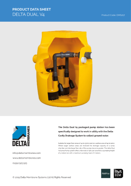 Delta Dual V4 Sump Pump