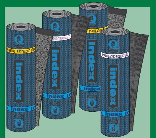 PROTEADUO -Reinforced bitumen sheets for roofing