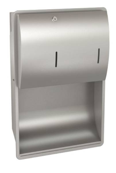 Combination paper towel and soap dispenser - STRX601E