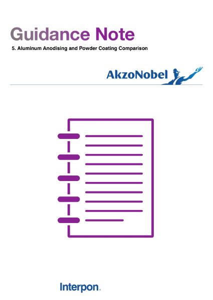 Guidance Note: Anodising vs Powder Coating