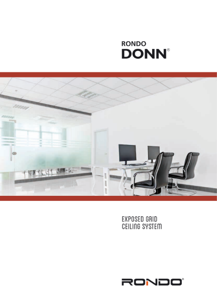Design Manual - DONN Exposed Grid Ceiling System